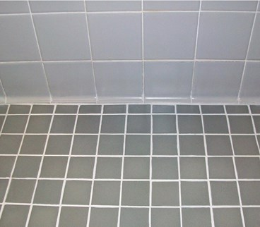Gray Tile After